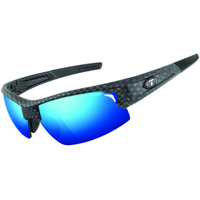 Tifosi Escalate HS Cykelbriller Herrer, matte carbon - clarion blue/ac red/clear